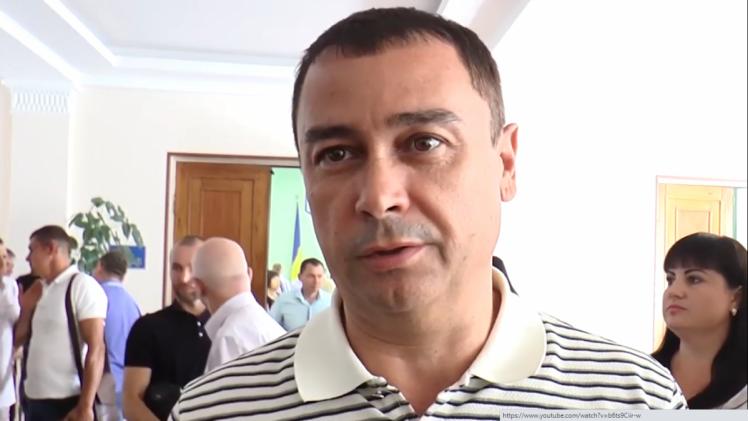 депутат Херсонської облради Альберт Черепаха