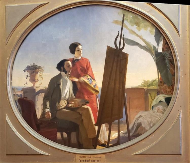 Херсон художник з дружиною