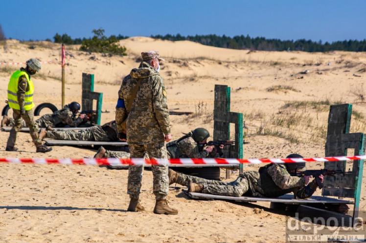 Обучение территориальной обороны на Херсонщине