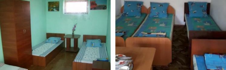 Кімната для відпочивальників на морі