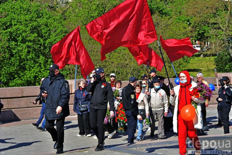 Херсон червоні прапори