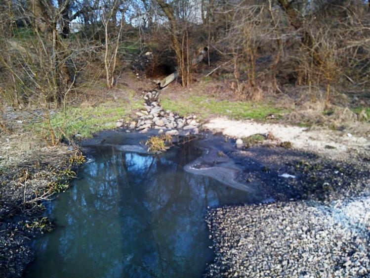 Забруднення Каховського водосховища